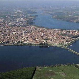 Aerea dei 3 laghi di Mantova