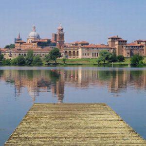 Fiume Mincio a Mantova