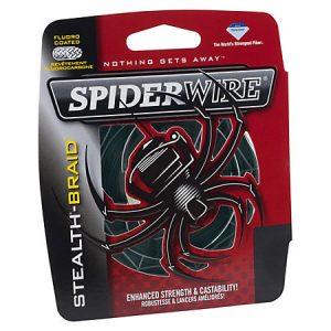 SPIDERWIRE-stealth braid