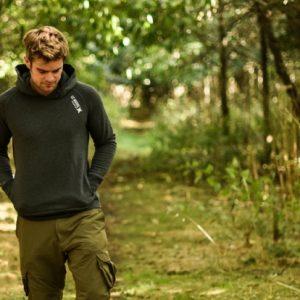 CC MOORE-hoodie dark grey