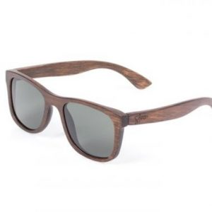 NASH-bamboo sunglasses grey lens