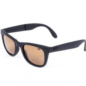 NASH-foldable amber sunglasses