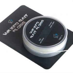 NASH-waxed bait floss
