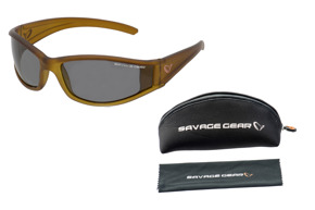 SAVAGE GEAR-slim shades dark grey lens