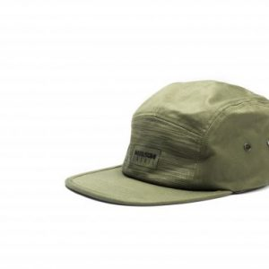 NASH-green 5 panel cap