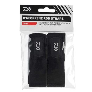 DAIWA-neoprene rod straps set m