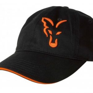 FOX-baseball cap black orange