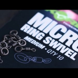 KORDA-micro rig ring swivel