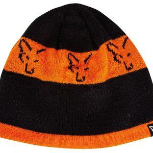 Fox Black Orange Beanie